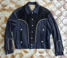 1950s Shirt  M  Plaid Western Shirt  Rockabilly  Cowboy  1950s Mens Fashion  1950s Western Shirt  Pilgrim Westerner  1960s Shirt