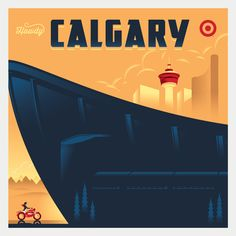When Target launched it's first 200 stores in Canada, the brand needed to make a few friends. I came up with the idea to create vintage travel poster inspired artwork showing bullseye the dog traveling across the country. Typography Inspiration, Graphic Design Inspiration, Travel Inspiration, Love Illustration, Pattern Illustration, Dog Travel, Print Layout, Vintage Travel Posters, Cool Posters