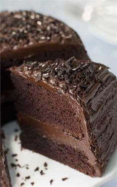 How to Make Moist Chocolate Cake from Scratch. Make this delicious chocolate cake dessert for your family this week and bring out the smiles! Old Fashioned Chocolate Cake, Chocolate Cake From Scratch, Tasty Chocolate Cake, Chocolate Desserts, Chocolate Frosting, Chocolate Chocolate, Buttermilk Chocolate Cake, Craving Chocolate, Chocolate Muffins
