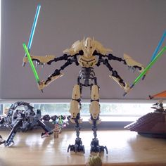 More for the collection #Lego #StarWars #GeneralGrievous
