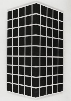 Mel Bohner: Convex Perspective, 1967. Silhouetted gelatin silver print mounted on Masonite. 46 1/2 x 27 1/4 in. (115.6 x 69. 2 cm). Collection David Nolan and Carol Eckman, New York.