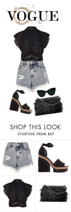 """""""Coffee kisses and Vogue"""" by maelohan ❤ liked on Polyvore featuring River Island, Pierre Hardy, Proenza Schouler, Marc by Marc Jacobs and KamaliKulture"""