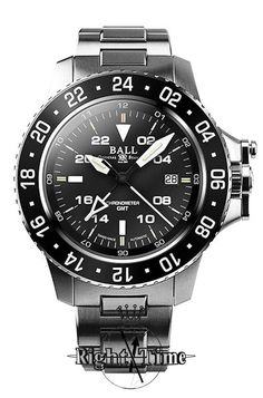 Ball Engineer Hydrocarbon Aero GMT diver style dg2016a-scj-bk. 42mm case. 14mm thick.