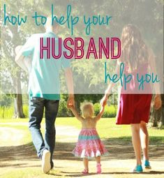 Awesome read on how to make it easy for your husband to help with the kids!! #dads #parenting