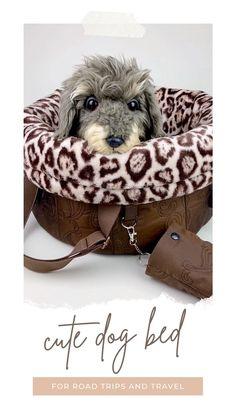 Cute Dog Beds, Designer Dog Carriers, Dog Carrier Bag, Dog Clothes Patterns, Dog Supplies, Dog Lovers, Bed Ideas, Dog Walking, Dog Stuff