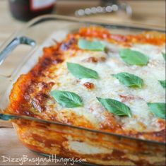 Eggplant Polenta Lasagna - Vegetarian lasagna dish made with polenta instead of noodles and eggplant and mushrooms for additional veggie goodness. Vegetable Recipes, Vegetarian Recipes, Cooking Recipes, Healthy Recipes, Polenta Lasagna, Zucchini Lasagne, Keto Lasagna, Lasagna Recipes, Eggplant Lasagna