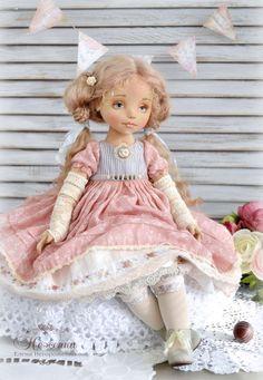авторская кукла, нежный