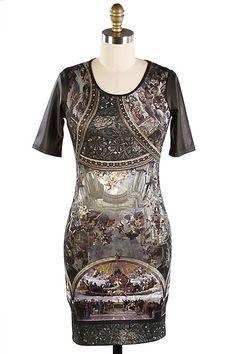 Artistic design dress from trendnotes.com