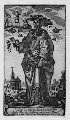 Gerhard Altzenbach, Death as a noblewoman,1630