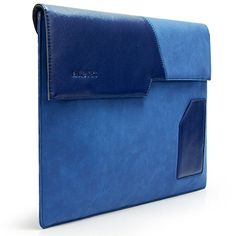 """Sinoguo Blue PU Leather Case Sleeve Pouch Protector Holder Carrying Bag with Cotton Fabric Lining for 13"""" Macbook Air / Pro /Pro With Retina Display and Most Popular 13-13.3"""" Laptop / Notebook / Ultrabook, Attach a Outside Pocket for Iphone/ Business Card/ Credit Card Sinoguo http://www.amazon.com/dp/B00RWZ5GRI/ref=cm_sw_r_pi_dp_mF83vb1WY69E5 Leather Laptop Bag, Leather Case, Laptop Bags, Pu Leather, African Accessories, Mobile Accessories, Notebook Case, Macbook Sleeve, Macbook Air Pro"""