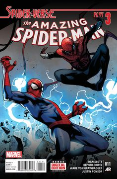 The Amazing Spider-Man #11 - Spider-Verse, Part Three: Higher Ground