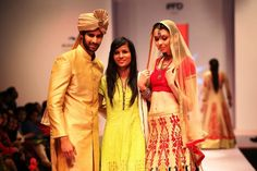 New style statements introduced in New Gen Designers of India Runway Week. Have a look at the beautiful work done by new talents on the blog here: http://www.hercreativepalace.com/2015/05/new-gen-designers-of-india-runway-week.html