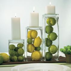 Square Glass Vases - Good Things Wedding Favors
