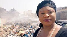 """Guinée : Une activiste de l'environnement lance le """"Selfie déchet"""" challenge pour dénoncer l'insalubrité – VivAfrik"""