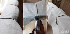 Headboard pleats