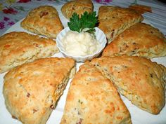 Melissa's Southern Style Kitchen-Savory Cheddar Bacon Scones & Sweet Pineapple Butter