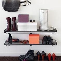 Maze Shoe Shelf L skohylla - Maze Shoe Shelf L skohylla - svart