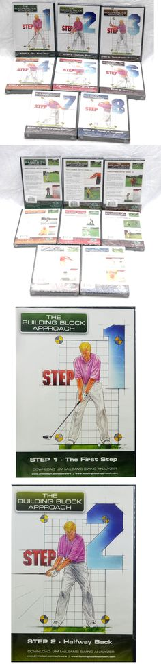 Other Golf Training Aids 14109: New Building Block Approach - Jim Mclean S Revolutionary 8-Part Dvd Set 8- Dvd S -> BUY IT NOW ONLY: $79.99 on eBay!