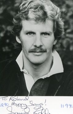 Actor, David Robb younger and rugged.