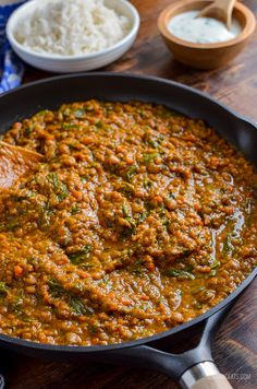 Slimming Delicious Syn Free Spicy Lentils and Spinach - a perfect meal for those meatless mondays. Even the non vegetarians, will love this recipe. Slimming World Vegetarian Recipes, Low Calorie Vegetarian Recipes, Vegan Slimming World, Slimming Eats, Slimming Recipes, Healthy Eating Recipes, Cooking Recipes, Spinach Recipes Vegetarian, Vegetarian Meals