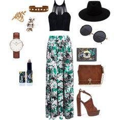 My flower skirt