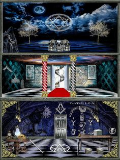 Take me threw the transitions Masonic Art, Masonic Lodge, Masonic Symbols, Simbolos Nova Era, Cosmos, Historical European Martial Arts, Spa Inspired Bathroom, Royal Art, Esoteric Art