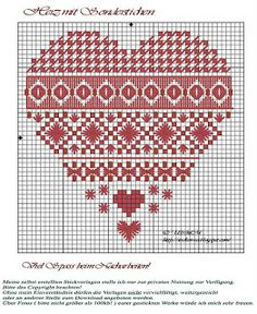 my freebie's: A heart with special stitches