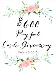 Craftaholics Anonymous® | $600 Paypal Cash Giveaway!