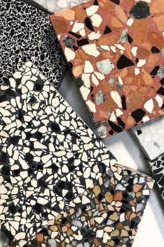 Where to put terrazzo? Love the stuff if we feel it's a fit Balcony Flooring, Kitchen Flooring, Terrazzo Tile, Tile Floor, Terrazo Flooring, Bathroom Interior Design, Interior Decorating, Tile Design, Textures Patterns
