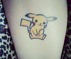 tiny pikachu tattoo - Google Search