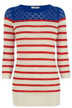 The classic breton top has had a cosy makeover, and aren't we glad it has