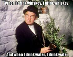 Barry Fitzgerald, The Quiet Man 1952 Funny Drunk Quotes, Drunk Humor, Actor Quotes, Movie Quotes, Man Quotes, Classic Hollywood, Old Hollywood, Hollywood Stars, Whiskey Quotes