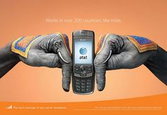 Creative AT Ads Campaign: 23 Fabulous Hand Paintings