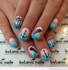 Botanic nails wonderful prints