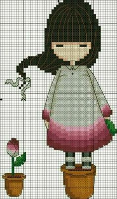 Thrilling Designing Your Own Cross Stitch Embroidery Patterns Ideas. Exhilarating Designing Your Own Cross Stitch Embroidery Patterns Ideas. Cute Cross Stitch, Cross Stitch Charts, Cross Stitch Designs, Cross Stitch Patterns, Cross Stitching, Cross Stitch Embroidery, Embroidery Patterns, Stitch Doll, Hama Beads Patterns