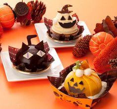 Halloween Sweets, Kawaii Halloween, Halloween Cookies, Halloween Candy, Halloween Ideas, Happy Halloween, Kawaii Dessert, Seasonal Food, Miniature Crafts
