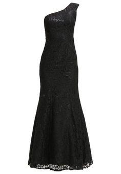 Damen Unique Ballkleid black