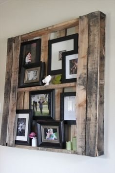 Very rusticlove the idea wood pallet recycling, pallet crafts, pallet Wood Pallet Recycling, Pallet Crafts, Pallet Ideas, Diy Pallet, Pallet Wood, Pallet Projects, Pallet Benches, Pallet Tables, Outdoor Pallet
