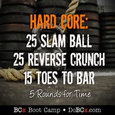 Hard Core Abs Workouts