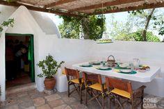 Zona pranzo #living #casa #trullo #home