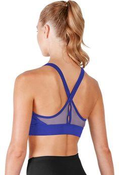 796a18aeb3 Bloch Mesh V Back Bra Top Dance Wear Solutions