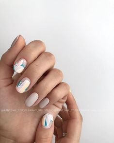 61 Pretty Spring Nails to Copy: Spring Nail Designs for 2020 Nail Art Designs, Nail Designs Spring, Manicure Rose, Hair And Nails, My Nails, Nail Art Halloween, Yellow Nails, Stylish Nails, Nude Nails