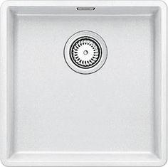 Blanco SUBLINE 400-F weiß Granit-Spüle