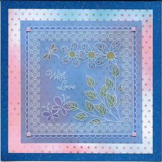 Amanda Williams design Hobbies And Crafts, Crafts To Make, Parchment Cards, Amanda Williams, Card Ideas, Barbara Gray, Projects To Try, Art Deco, Paper Crafts