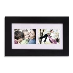Adeco 2-Opening Collage Picture Frame with Mat, 4x6, PF0037-2 #AdecoHomeGoods #CollagePictureFrame