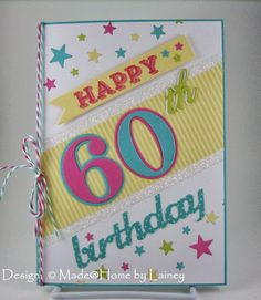 Made @ Home: Happy 60th Birthday