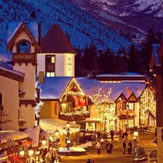 How beautiful is Vail, Colorado at Twilight?
