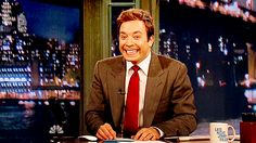 Late Night with Jimmy Fallon by far is the best late night talk host. So fricking funny!!