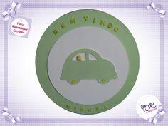 Porta Maternidade Oval carro