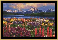 Grand Teton [NFP-33] - $16.00 : Mystic Stitch Inc, The fine art of counted cross stitch patterns